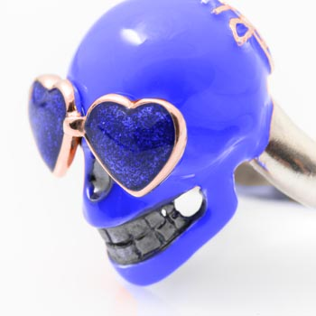 Teschio Blu