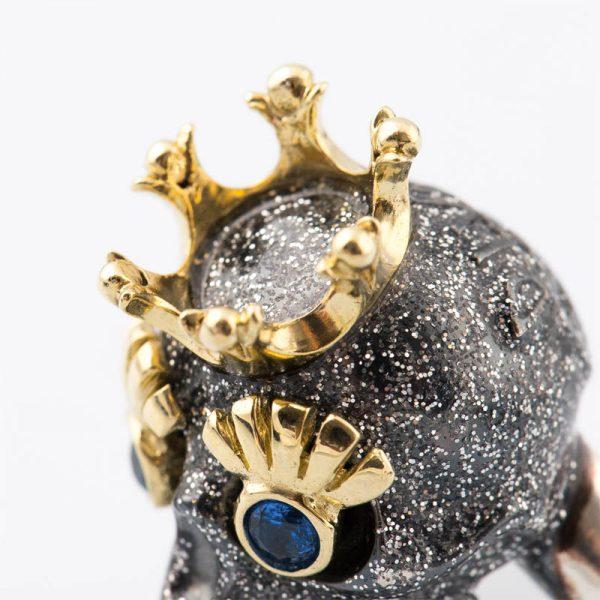 Corona e Ciglia Dorato Giallo